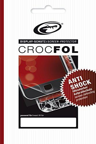 Crocfol Anti-Shock Moto G Displayschutzfolie (Motorola Moto G, Dry-App, Kratzfest, 1 Stück)