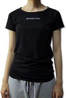 GYMCROSS (ジムクロス) ラグランスリーブ半袖Tシャツ ストレッチ ヨガ トレーニング フィットネスウェア ダンス ズンバ ジョギング【レディース】wgc-004