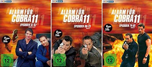 Alarm für Cobra 11 - Staffel 6/7+8+9 im Set - Deutsche Originalware [6 DVDs]