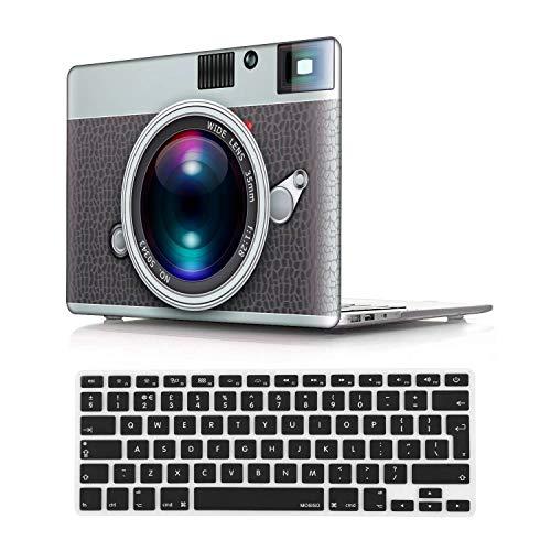 NEWCENT MacBook Pro 13' Funda,Plástico Ultra Delgado Ligero Cáscara Cubierta EU Teclado Cubierta para MacBook Pro 13 Pulgadas con Touch Bar Touch ID 2020 Versión(Modelo:A2289/A2251),Creativo 47