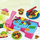 WANGQI Knet-Werkzeug-Set, Kinder-Spielteig, Knetmasse, Plastilin DIY Spielteig Modellieren Ton Set...