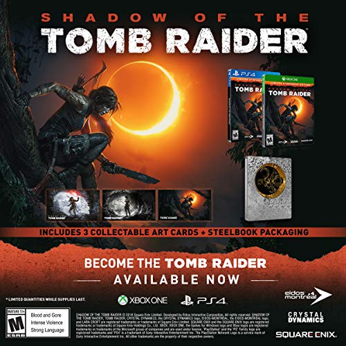 Shadow of the Tomb Raider Xbox One Steelbook Edition - 3