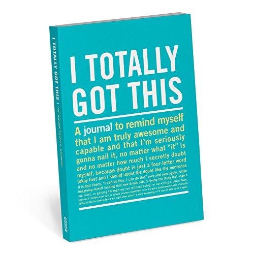Knock Knock I Totally Got This Mini Inner-Truth Journal