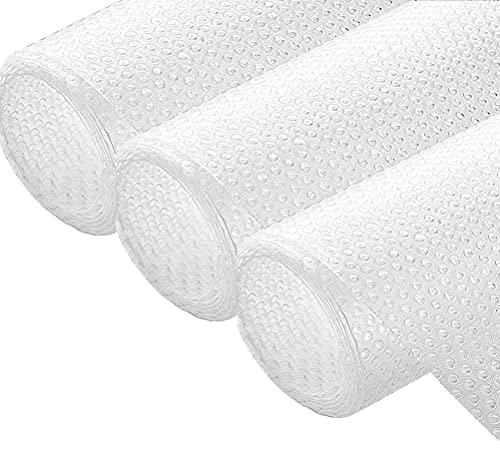 Shelf Liner Non-Slip Adhesive Waterproof EVA Cupboard Cabinet Pad Drawer...