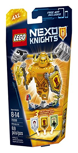 LEGO Nexo Knights 70336 Ultimate Axl Building Kit (69-Piece)