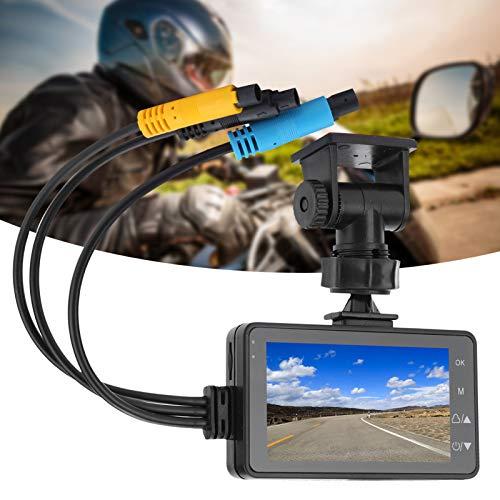 Fishawk Registrador de conducción de Motor, Registrador de conducción de Motocicleta, 1080P para Bicicleta Bicicleta de Carretera Bicicleta de montaña