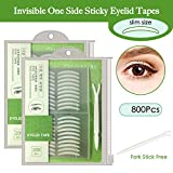 Best Eyelid Tapes - 800Pcs Natural Invisible Single Side Eyelid Tape Stickers Review