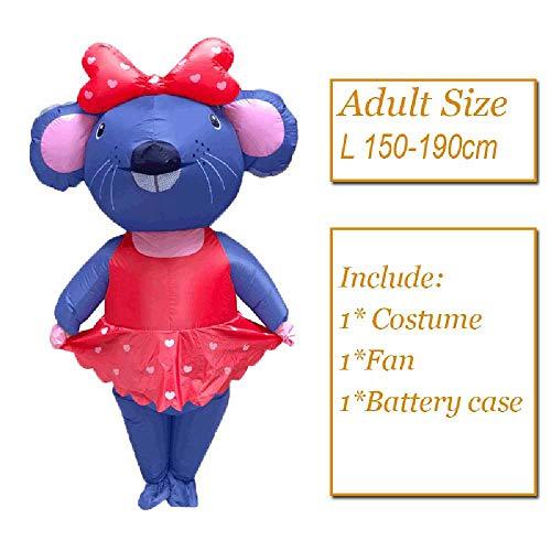 maofan Hoge Kwaliteit Opblaasbare Kostuums, Partij Mascotte Kostuums, Cosplay Halloween Kostuums 12