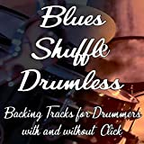 128 Bpm Drummer Jamtrack -Major Blues Shuffle with Metronome