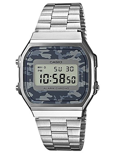 Casio Collection Unisex Retro Armbanduhr A168WEC-1EF