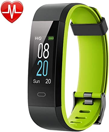 Willful Fitness Tracker Heart Rate Monitor Color Screen,IP68 Waterproof Activity Tracker 14 Modes Sport