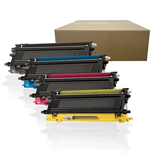 Inktoneram Compatible Toner Cartridges Replacement for Brother TN110 TN115 TN110BK/C/M/Y DCP-9040CN DCP-9045CDN MFC-9440CN MFC-9450CDN MFC-9840CDW MFC-9870CDW HL-4040CN HL-4050CDN (BK,C,M,Y,4PK)