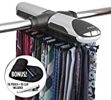 Best Tie Racks - StorageMaid Motorized Tie Rack Organizer for Closet Review