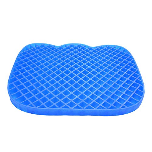 Coccyx Pain Relief Cushion Seat Cushion Office Chair Cushion Coccyx Cushion Sciatica Pain Relief Gel Cushion Anti-Ulcer Cushion Beautiful Hip Cushion Lumbar Protection Cushion-Cat Cushion_Cloth Cover