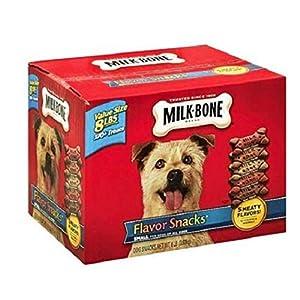 Milk-Bone Flavor Snacks Dog Treats Small/Medium Sized Dogs 7 Pound