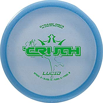 Dynamic Discs Lucid EMAC Truth Disc Golf Midrange | 170g Plus | Stable Frisbee Golf Midrange | Stamp Color Will Vary  Blue