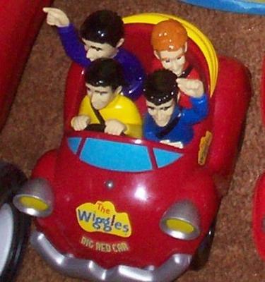 Best Price The Wiggles Wiggle 'N Giggle Big Red Car