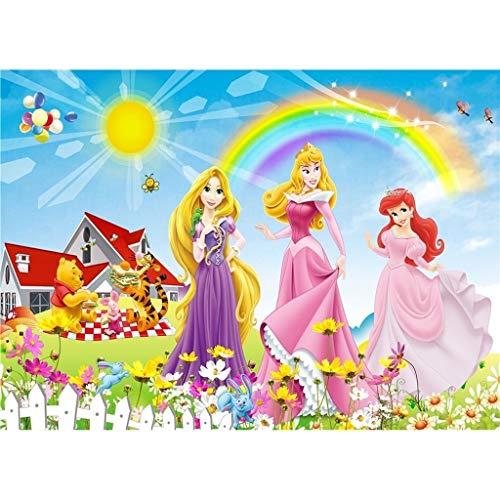 Lfixhssf Puzzle Disney Prinzessin Sofia die Erste 300.500.1000 Teile Puzzle Lfixhssf