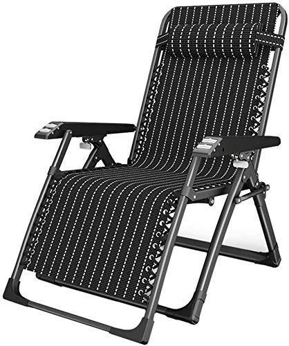 Yuany sillas de butaca para Silla Plegable al Aire Libre para Fundas de Almohada, Silla al Aire Libre, a Gran Silla Adicional, balancín del Patio
