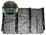 Amiao Runden Trampolin Enclosure Netz Ersatz Sicherheit Gittergewebe Net Zaun Passt 16ft,15ft,14ft,13ft,12ft,10ft,8ft,6ft Trampoline Accessoires,8ft