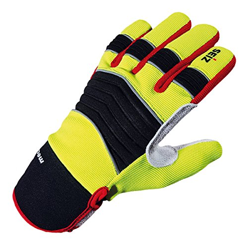 SEIZ Mechanic 800185 Universeller Handschuh für Rettungskräfte, Gr. 9