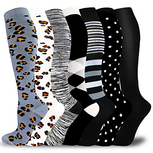 Medical Copper Compression Socks for Men & Women-Graduated Supports socks for Sports,Running,Nurses