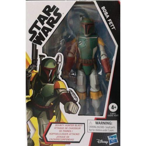 Star Wars Galaxy of Adventures Boba Fett Spielzeug 12,5 cm große Action-Figur mit toller Projektil-Funktion, Spielzeuge für Kids ab 4 Jahren