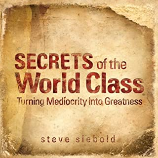 Secrets of World Class audiobook cover art