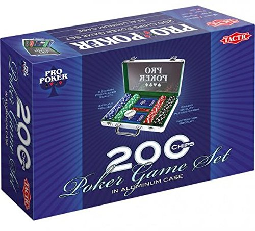Pro Poker Aluminium Suit Case 200 Chips