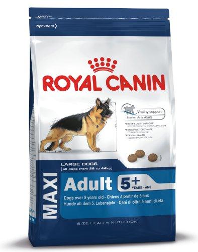 Royal Canin Maxi Adult, 5+, 15 kg, 1er Pack (1 x 15 kg Packung), Hundefutter