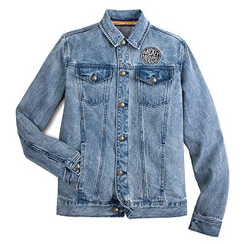 Disney Mickey Mouse Denim Jacket for Adults, Size S