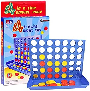 Amazindealz Connect Four Large 4040 Game Strategy Board Game 4 in a Row Game Family Fun Interactive Board Game Kids Educat...