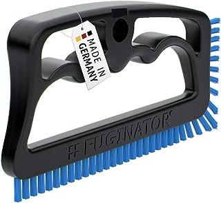 Fuginator Scrub Brush for Tile and Grout: Stiff Nylon Bristle Scrubbing Brush - Bathtub and Shower Scrubber for Floor Join...