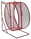 Trixie Roue d'Exercice Hamsters Degues Métal Surface Maille Fine Diamètre 28 cm -...