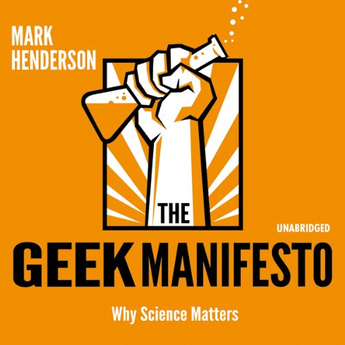 The Geek Manifesto audiobook cover art