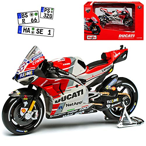 Ducati Desmosedici GP18 MotoGP Nr 04 2018 Andrea Dovizioso 1/18 Maisto Modell Motorrad
