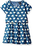 Limited Too Girls' Little Casual Dress (More Styles Available), Medium Blue Wash KY95, 6