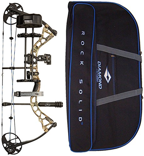 Diamond Archery by Bowtech Infinite Edge Pro RAK Package - Left Hand Model in Break-up Country Infinity Camo Bundle with Case