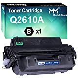 MM MUCH & MORE Compatible Toner Cartridge Replacement for HP 10A Q2610A 2610A to Used for Laserjet 2300 2300L 2300N 2300D 2300DN 2300DTN Printer (1-Pack, Black)