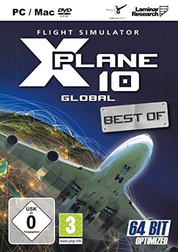 X-Plane 10 - Global 64Bit Version (MAC+Linux)