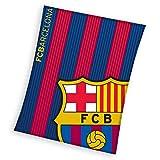 FC Barcelona - Manta de Coral (130 x 160 cm)