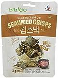 BIBIGO Seetang-Reis-Chips, BBQ-Geschmack, 5er Pack (5 x 20 g) -