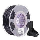 eSUN Filamento Nylon Fibra de Carbono Mejorado 1.75mm, Impresora 3D Filamento PA6-CF, Precisión Dimensional +/- 0.05mm, 0.75KG Carrete para Filamento de Impresión 3D, Natural