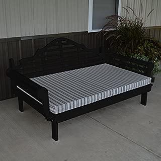 A & L Furniture Yellow Pine Marlboro Daybed, 4', Walnut Stain