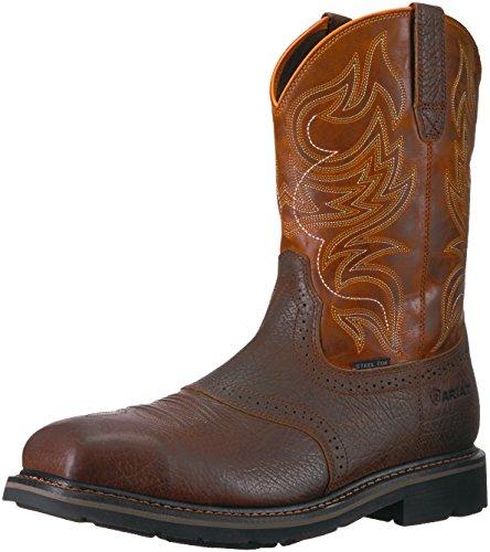 Ariat Work Men's Sierra Shadowland Steel Toe Work Boot, Mesa Brown, 7.5 D US