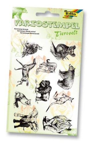 Folia 30109 - Tierwelt Variostempel