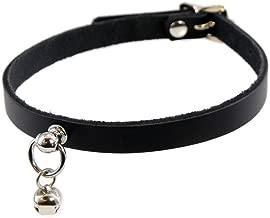 Pawstar Mini Kitty Bell Collar Leather Choker