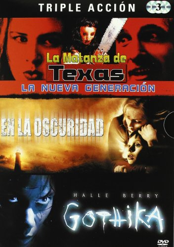 Pakc Terror Hallowen 2: La Matanza De Texas / Darkness Falls / Gothika [DVD]