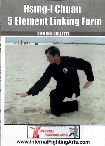 Hsing-I Five Elements Linking Form DVD - Xingyi Instruction