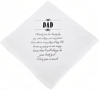 Wishprom Dad Hankie Wedding Party Gift